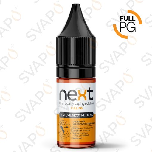 BASI - BASI PRONTE - VAPLO - NEXT - FULL PG 10 ML NICOTINA 18