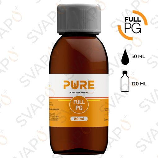 PURE - FULL PG Base 50 ML Bottiglia 120 ML