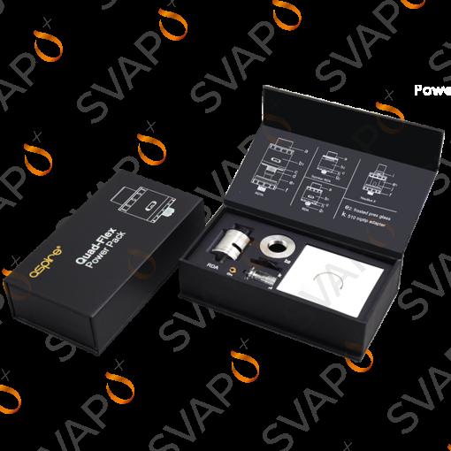 -ASPIRE - Atomizzatore QUAD FLEX POWER RDA PACK KIT