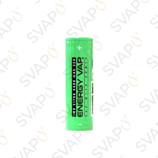 RICAMBI - BATTERIE - ENERGY VAP - BATTERIA 21700 4400MAH 30A