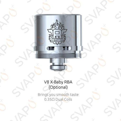 RICAMBI - RESISTENZE - SMOK - 1 PZ BASE V8 X-BABY RBA