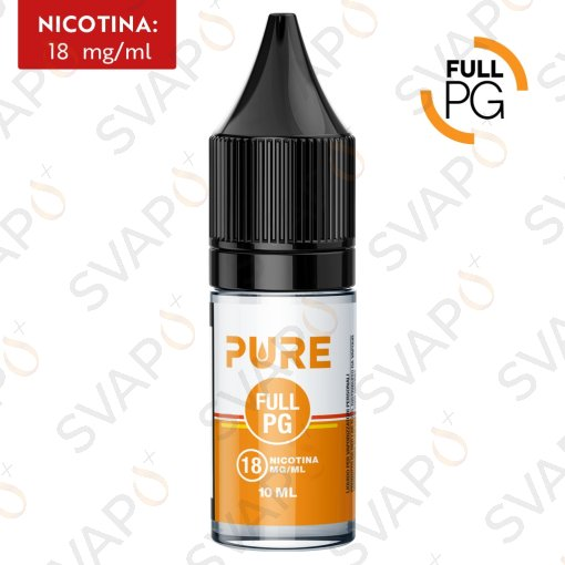 BASI - BASI PRONTE - PURE - FULL PG BASE NEUTRA 10 ML NICOTINA 18
