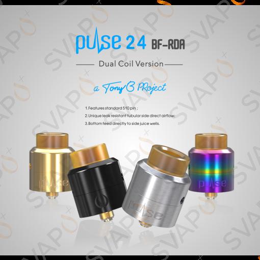 -VANDY VAPE - PULSE 24 BF RDA Atomizzatore
