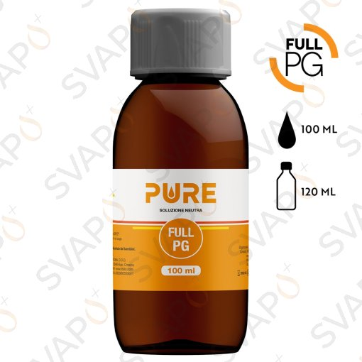PURE - FULL PG Base 100 ML Bottiglia 120 ML