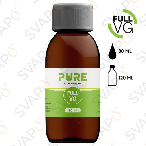 PURE - FULL VG Base 80 ML Bottiglia 150 ML
