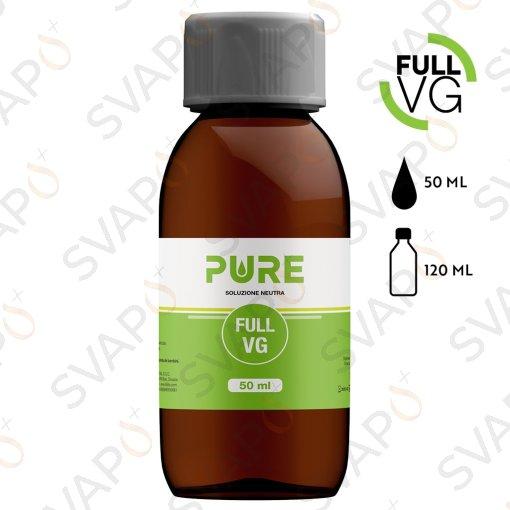 PURE - FULL VG Base 50 ML Bottiglia 120 ML