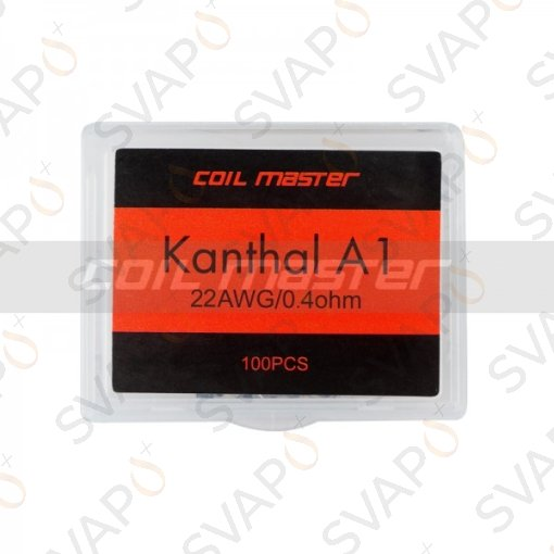 -COIL MASTER - PRE-BUILT A1 WIRE (10 PCS)