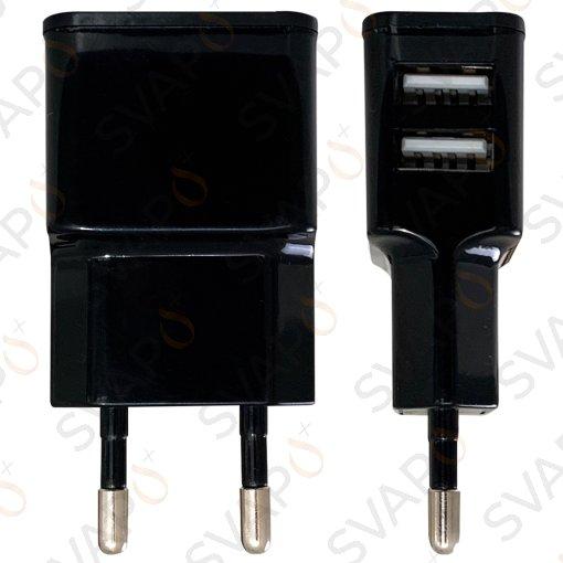 Carica Batterie da parete - DOPPIA USB 2A