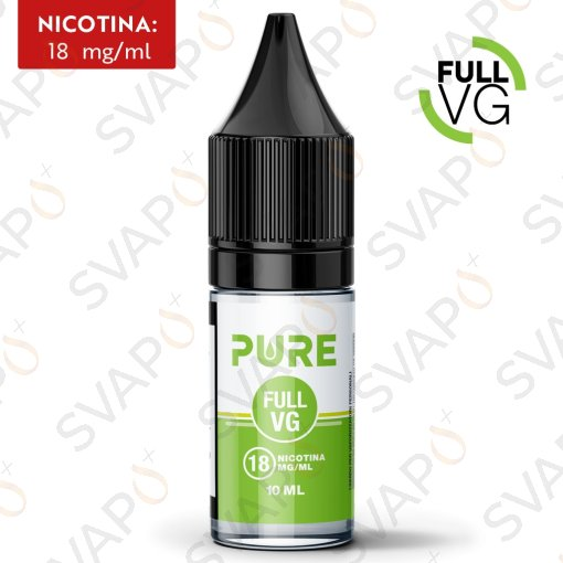 BASI - BASI PRONTE - PURE - FULL VG BASE NEUTRA 10 ML NICOTINA 18