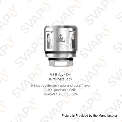 SMOK - 5 Pz COIL PER TFV8 BABY Q4