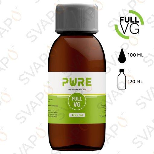 PURE - FULL VG Base 100 ML Bottiglia 120 ML
