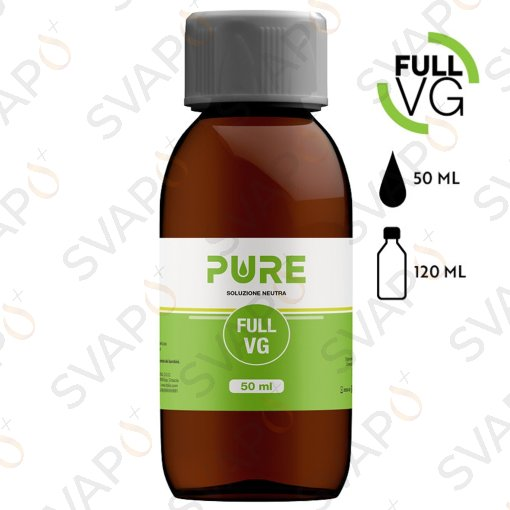 PURE - FULL VG Base 50 ML Bottiglia 150 ML