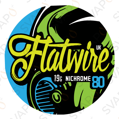FLATWIRE UK - NI80 Filo resistivo (3MT) 19GA