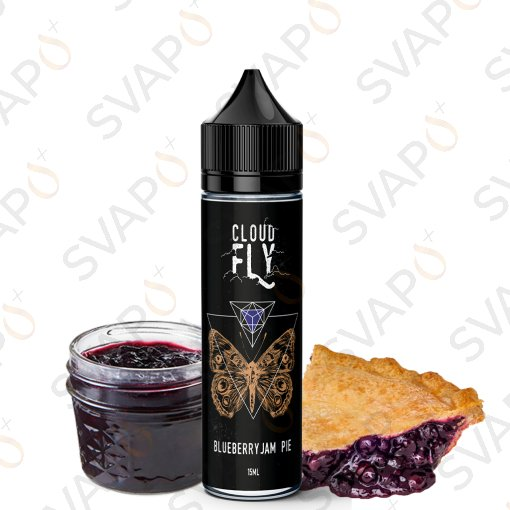 LIQUIDI SCOMPOSTI - SHOT SERIES 15+45 - CLOUD FLY  - BLUEBERRY JAM PIE SHOT SERIES 15 ML
