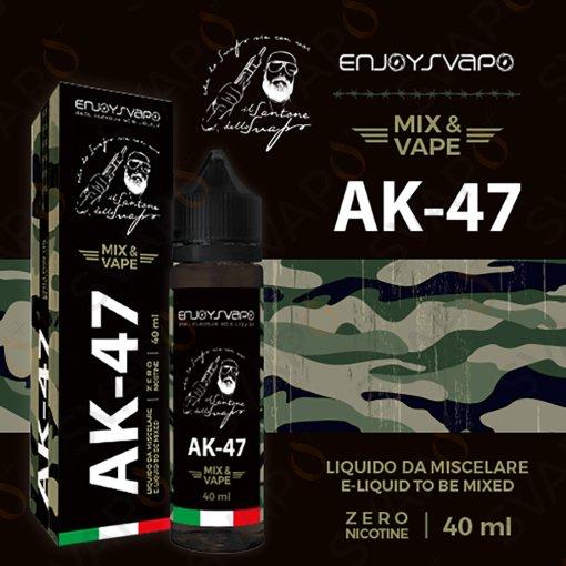 LIQUIDI SCOMPOSTI - MIX SERIES 40+20 - ENJOYSVAPO  - ENJOYSVAPO - AK-47 MIX SERIES 40 ML