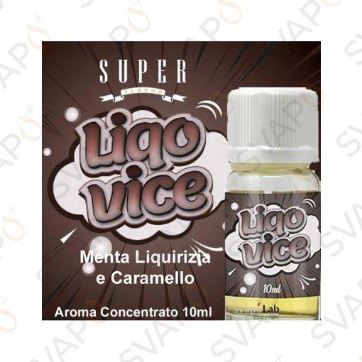AROMI - AROMI CONCENTRATI 10 ML - SUPER FLAVOR  - SUPER FLAVOR - LIQOVICE AROMA CONCENTRATO 10 ML