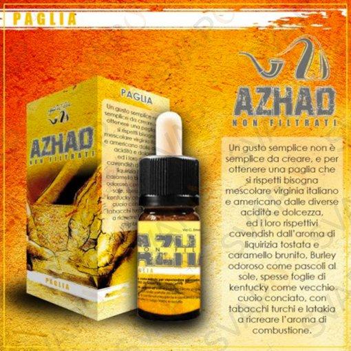 AZHAD'S ELIXIR - PAGLIA NON FILTRATI Aroma Concentrato10 ML