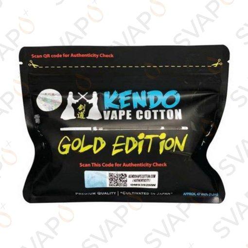 KENDO VAPE COTTON - GOLD EDITION - KENDO