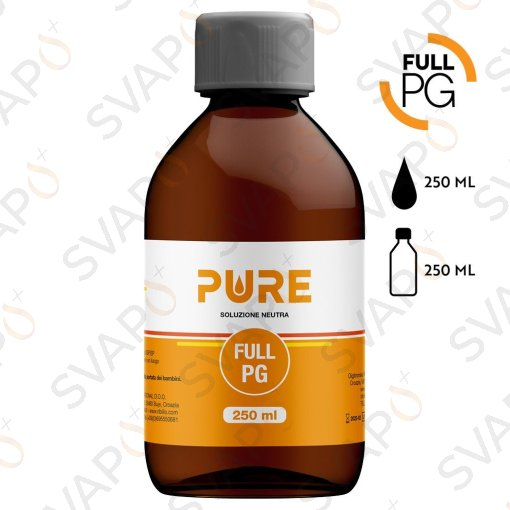 BASI - BASI - BASI PRONTE - BASI SCOMPOSTE - PURE - FULL PG 250 ML