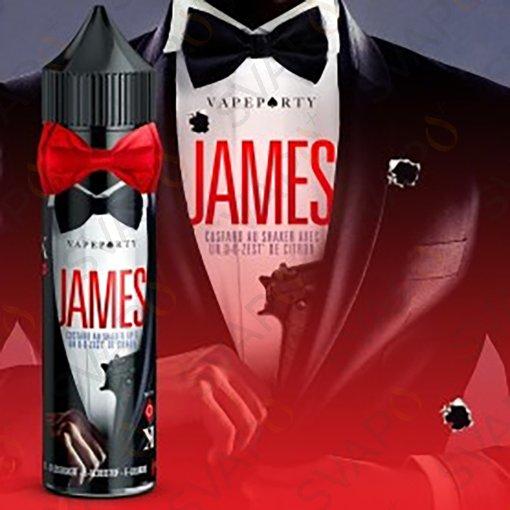 LIQUIDI SCOMPOSTI - SHOT SERIES 20+40 - SWOKE & CO.  - JAMES SHOT SERIES 20 ML
