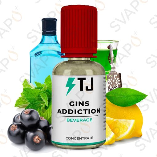 T-JUICE - GINS ADDICTION Aroma Concentrato 30 ML