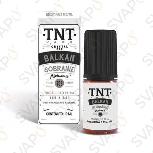 TNT VAPE - BALKAN SOBRANIE  759 10 ML