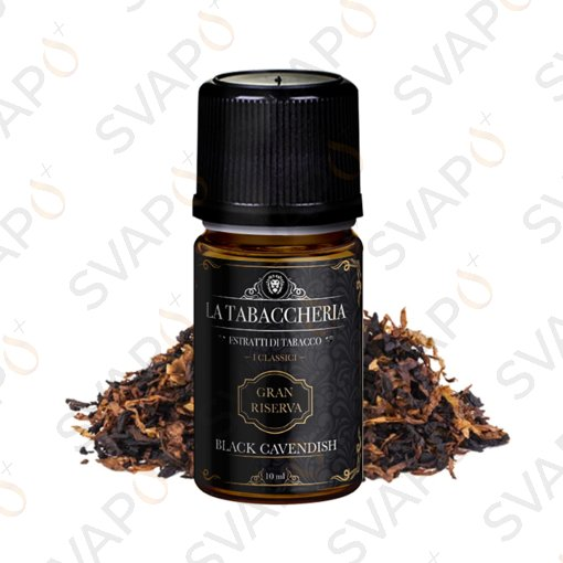 LA TABACCHERIA - GRAN RISERVA - BLACK CAVENDISH - Aroma Concentrato 10ML