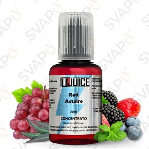 AROMI - AROMI CONCENTRATI 30 ML - T-JUICE - UICE - RED ASTAIRE AROMA CONCENTRATO 30 ML