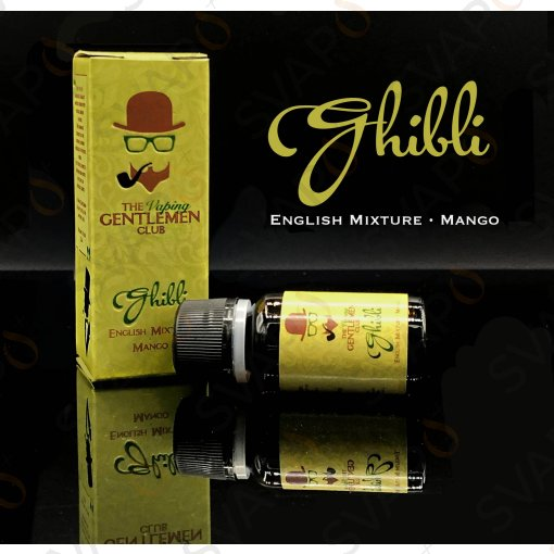 AROMI - AROMI CONCENTRATI 10 ML - THE VAPING GENTLEMEN CLUB  - GHIBLI AROMA CONCENTRATO 10 ML