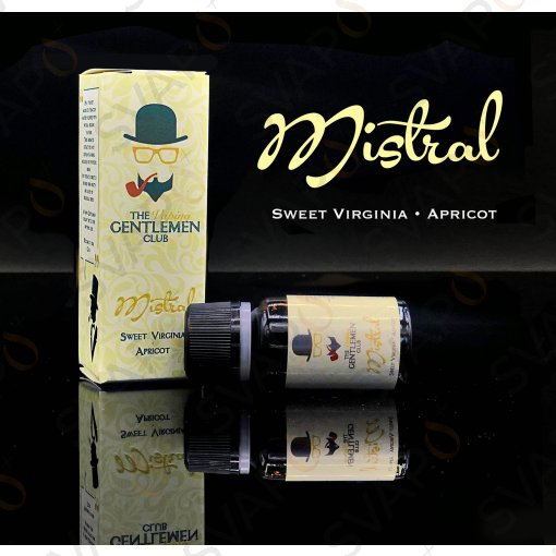 AROMI - AROMI CONCENTRATI 11 ML - THE VAPING GENTLEMEN CLUB  - MISTRAL AROMA CONCENTRATO 11 ML