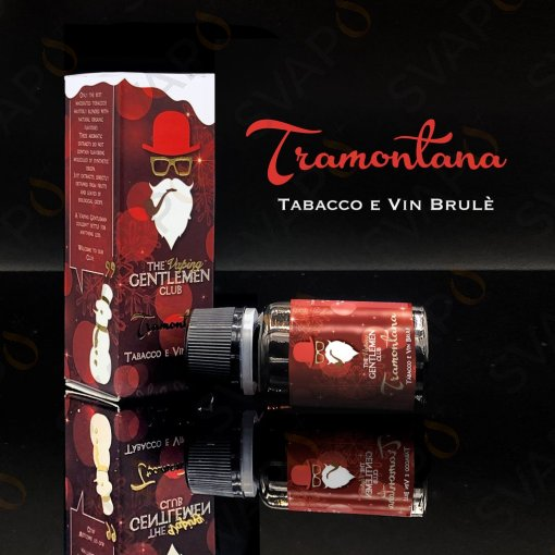 AROMI - AROMI CONCENTRATI 11 ML - THE VAPING GENTLEMEN CLUB  - TRAMONTANA AROMA CONCENTRATO 11 ML