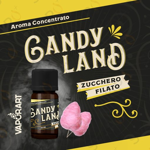 AROMI - AROMI CONCENTRATI 10 ML - VAPORART  - CANDYLAND AROMA CONCENTRATO 10 ML