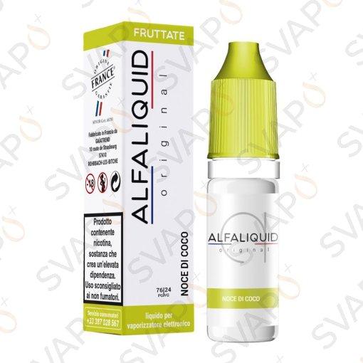 -ALFALIQUID - ORIGINAL FRUTTATI NOCE DI COCCO 10 ML
