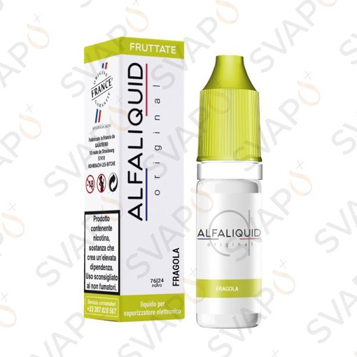 -ALFALIQUID - ORIGINAL FRUTTATI FRAGOLA 10 ML