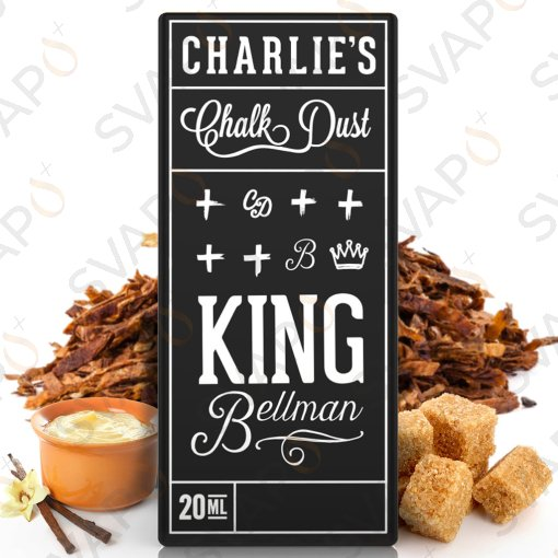 CHARLIE'S CHALK DUST - BLACK - KING BELLMAN Aroma Concentrato 20 ML