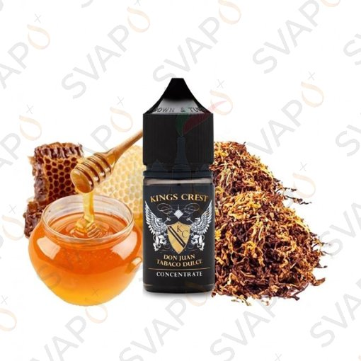 AROMI - AROMI CONCENTRATI 30 ML - KINGS CREST - DON JUAN TABACO DULCE AROMA CONCENTRATO 30 ML