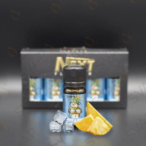 AROMI - AROMI CONCENTRATI 10 ML - SVAPONEXT  - NEXT FLAVOUR ICE PINEAPPLE AROMA CONCENTRATO 10 ML
