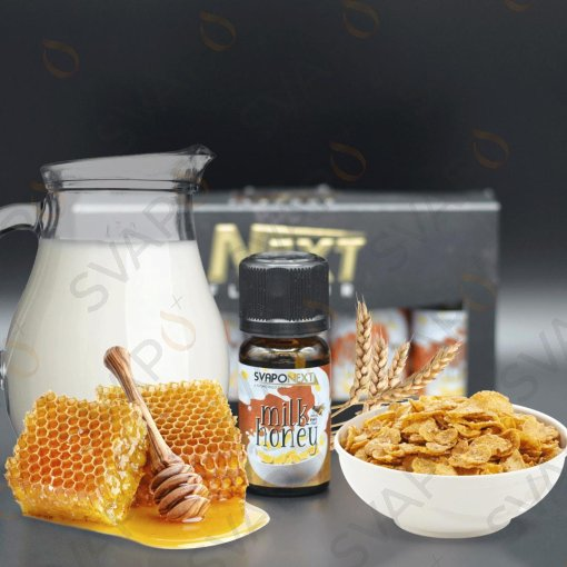 AROMI - AROMI CONCENTRATI 10 ML - SVAPONEXT  - NEXT FLAVOUR MILK & HONEY AROMA CONCENTRATO 10 ML