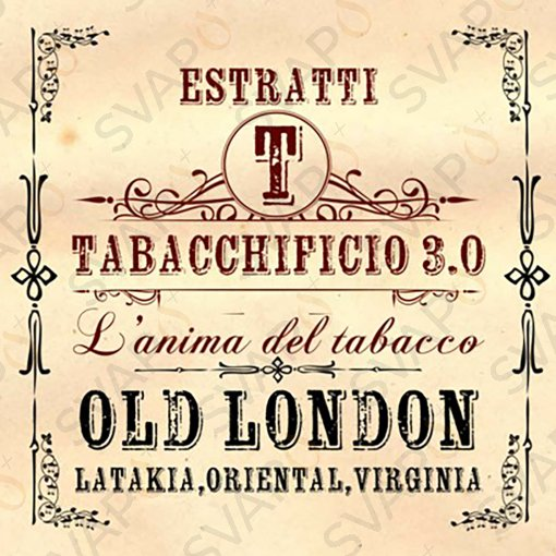 AROMI - AROMI CONCENTRATI 20 ML - TABACCHIFICIO 3.0  - BLEND OLD LONDON AROMA CONCENTRATO 20 ML