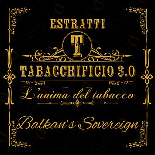 AROMI - AROMI CONCENTRATI 20 ML - TABACCHIFICIO 3.0  - BELND BALKAN'S SOVEREIGN AROMA CONCENTRATO 20 ML
