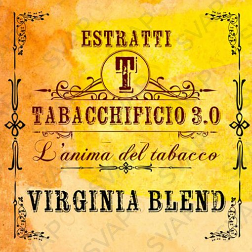 AROMI - AROMI CONCENTRATI 20 ML - TABACCHIFICIO 3.0  - BLEND VIRGINIA BLEND AROMA CONCENTRATO 20 ML