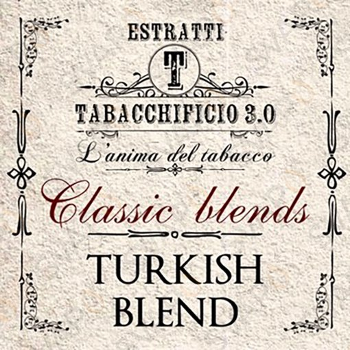 AROMI - AROMI CONCENTRATI 20 ML - TABACCHIFICIO 3.0  - CLASSIC BLENDS TURKISH BLEND AROMA CONCENTRATO 20 ML