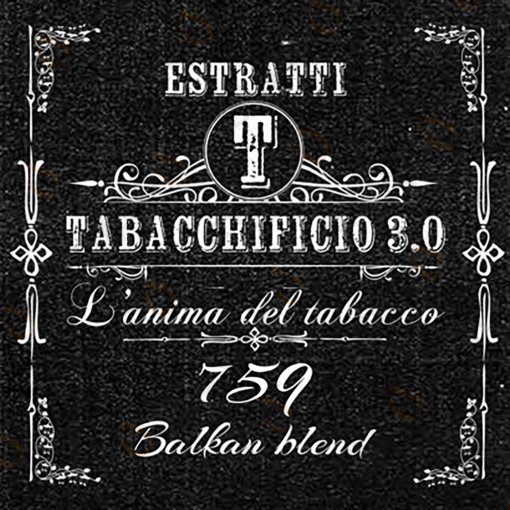 AROMI - AROMI CONCENTRATI 20 ML - TABACCHIFICIO 3.0  - SPECIAL BLEND 759 AROMA CONCENTRATO 20 ML