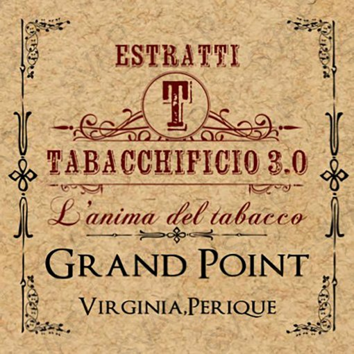 AROMI - AROMI CONCENTRATI 20 ML - TABACCHIFICIO 3.0  - SPECIAL BLEND GRAND POINT AROMA CONCENTRATO 20 ML