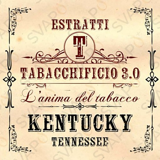 AROMI - AROMI CONCENTRATI 20 ML - TABACCHIFICIO 3.0  - TABACCHI IN PUREZZA KENTUCKY AROMA CONCENTRATO 20 ML