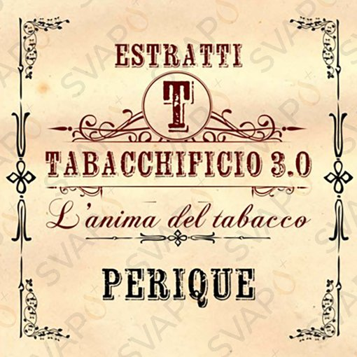 AROMI - AROMI CONCENTRATI 20 ML - TABACCHIFICIO 3.0  - TABACCHI IN PUREZZA PERIQUE AROMA CONCENTRATO 20 ML