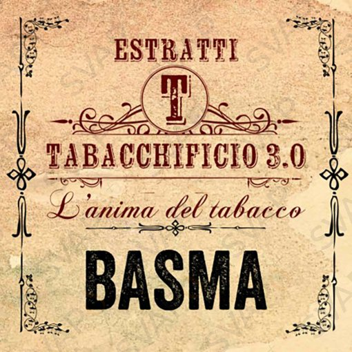 AROMI - AROMI CONCENTRATI 20 ML - TABACCHIFICIO 3.0  - TABACCHI IN PUREZZA BASMA AROMA CONCENTRATO 20 ML