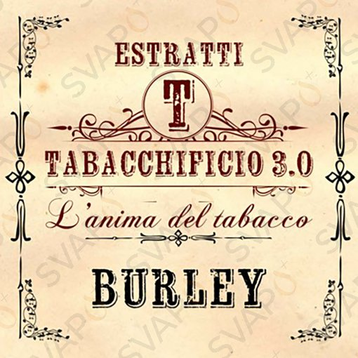AROMI - AROMI CONCENTRATI 20 ML - TABACCHIFICIO 3.0  - TABACCHI IN PUREZZA BURLEY AROMA CONCENTRATO 20 ML