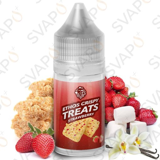 -ETHOS VAPORS - CRISPY TREATS STRAWBERRY Shot Series 20 ML