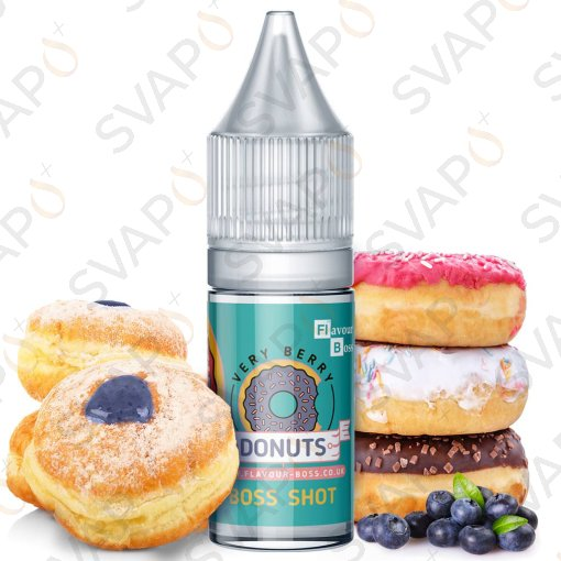 FLAVOUR BOSS - VERY BERRY DONUTS Aroma Concentrato 10 ML